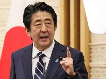 会見に臨む安倍首相(首相官邸ホームページより)