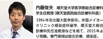 内藤俊夫 順天堂大学医学部総合診療科
